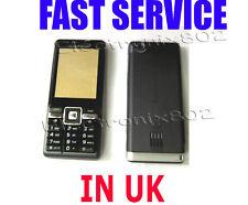 Replacement Case keypad Fascia battery Cover Housing for S.E J105 J105i Black UK