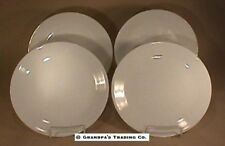 "4 Corelle by Corning ALL Winter Frost White 10-1/4"" Dinner Plates Nice Condition"