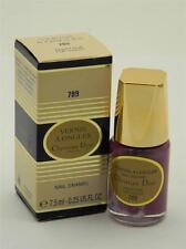Dior Vernis A Ongles Nail Enamel Polish 789 Pop Violet