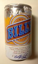 "'77 Billy Carter Beer Can ""LIMITED Production Stay-Tab"" President Bro CHEAP SHIP"