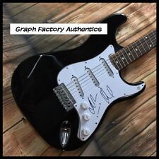 GFA David Draiman & John Moyer  * DISTURBED * Signed Electric Guitar D1 COA
