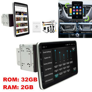 """10.1"""" Android 9.1 Double 2Din Car Stereo Radio GPS Wifi OBD2 Mirror Link Player"""