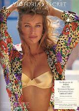 ff3e6768ff5 1993 Victoria s Secret Frederique Van Der Wal Print Ad Vintage  Advertisement 90s