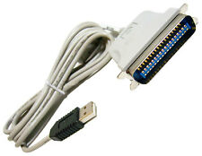 HP USB-to-Parallel Converter 6.8ft Cable NEW 305244-001 80-In Grey Cable UP-1112