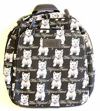 "Tapestry Signare Backpack ""West Highland Terrier"" Large Dog Design Backpack"