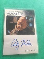 Star Trek TNG Heroes & Villains Autograph Card Ltd KEN OLANDT / JASON VIGO