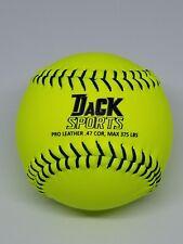 Tjack Sports 12� Gameball for Fast Pitch Softball – 12 Balls (Nib)
