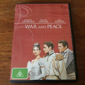 War and Peace DVD R4 Like New! FREE POST