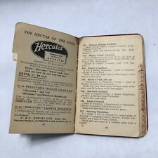 ABC OF MIXING COCKTAILS. HARRY'S BAR DRINK RECIPES. ORIGINAL VERY RARE 1930s!