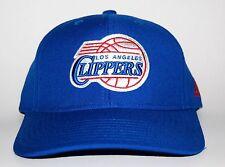 LOS ANGELES CLIPPERS RETRO SNAPBACK HAT CAP NBA ADIDAS BLUE