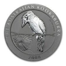 2008 Australia 1 oz Silver Kookaburra (from mint roll)
