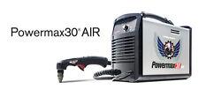 HYPERTHERM 088096 POWERMAX 30 AIR PLASMA CUTTER w/ CO/MPRESSOR and CART