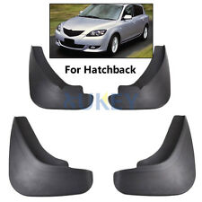 FIT FOR 2003~2008 MAZDA 3 M3 BK HATCH HATCHBACK MUD FLAP SPLASH GUARD MUDGUARDS