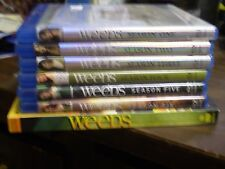 .(7) Weeds Season Blu-Ray/DVD Lot: Weeds 1, 2, 3, 4, 5, 6 & 8 Mary-Louise Parker