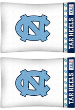 North Carolina Tar Heels Pillow Cases NCAA Pillowcase Bedding
