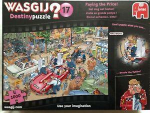 Brand New WASGIJ 1000 Piece Jigsaw Puzzle - PAYING THE PRICE!, DESTINY 17