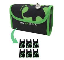 Footprint Bags Reusable bags  6 Bag Pack Green