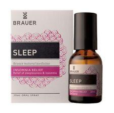 BRAUER SLEEP ORAL SPRAY 20ML INSOMNIA SLEEPLESSNESS RELIEF NATURAL MEDICINE