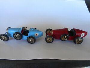 Matchbox Yesteryear Y6 Bugatti blue & red
