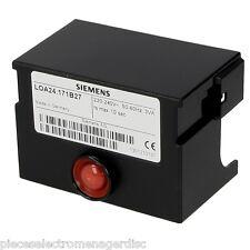 Boite de controle chaudière  LOA24 171B27 SIEMENS  pour bruleur fioul