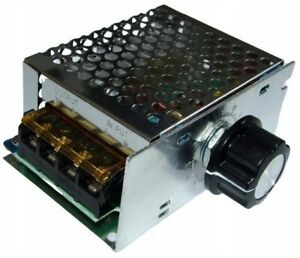 Leistungsregler, Drehzahlregler, Spannungsregler 230V 4000W
