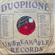BRITISH JAZZ: SAVILE ALL MASTERS DANCE ORCH 'BACK BEATS' RARE 1927 DUOPHONE 78!