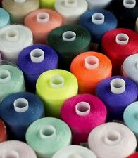 120s SPUN POLYESTER THREAD, MIXED PACK, VARIOUS COLS AND QUANTITIES