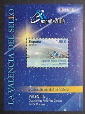 España 2003 España 2004 Sello Exposición Mini Hoja. estampillada sin montar o nunca montada.