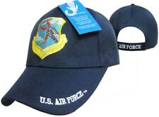 U.S. Air Force AF Strategic Air Command Blue Ball Cap Hat Embroidered 3D (RUF)
