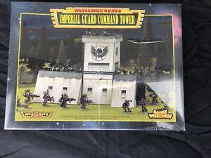 Games Workshop Citadel Warhammer 40k Imperial Guard Command Tower Unpunched OOP