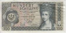 Austria Banknote P146-970L 100 Schilling, 2.AUFLAGE, VF