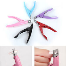 New Edge Nail Art Manicure Acrylic Gel False Tips Clipper Cutter Nail Scissors