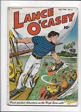 LANCE O'CASEY #3  [1946 VG+]  PERIL-PACKED ADVENTURES ON THE HIGH SEAS