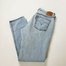 LEVI's 501 button fly Jeans  Light Wash Tag 32 x 32 (measure 34x32)