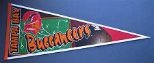 """VINTAGE TAMPA BAY BUCCANEERS OLD LOGO PENNANT 12"""" x 30"""" NEW NFL FREE US SHIPPING"""