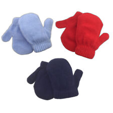Children Toddler Winter Gloves Mittens Knitted for Winter Boys Girls 0-6 Months