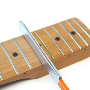 Fret Crowning File for Guitar Steel Luthier Tool – Double-edged 2.5mm / 3.0mm