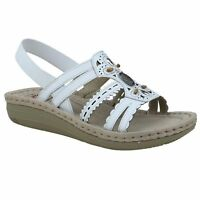 Earth Spirit PORTLAND Womens Sandals White