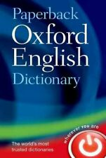 Paperback Oxford English Dictionary by Oxford Languages 9780199640942