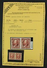 CKStamps: US Stamps Collection Scott#271b 6c Garfield Mint H OG with PF Cert