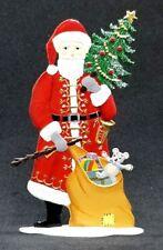 """ARTIST WILHELM SCHWEIZER GERMAN ZINNFIGUREN - Standing Santa (2""""x 3.75"""")"""