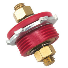 """1//0 GAUGE,TERMINATED 1//2/"""" X 3//8/"""" RED ALTERNATOR POWER BATTERY CABLE 48/"""" LONG"""