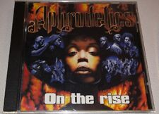 Aphrodelics - On The Rise (CD, 1998, Reverso) RARE Hip Hop Germany Import