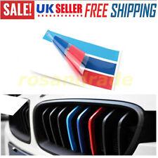 3pcs PVC front Grill Stripe decal M sport sticker for BMW 5 Series X3 X5 E90 E91