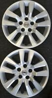 TWO Nissan Altima 2013-2019 Hubcaps Factory Original OEM 53088 Wheel Covers