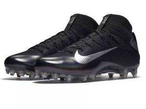 Mens Nike Vapor Untouchable 2 American Football Cleats / Boots in Black UK 10.5