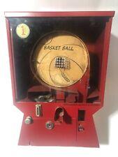 1955 Coast Basketball Gumball Vending Machine – 1 Cent