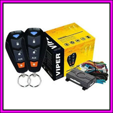 Viper 3400V One Way Car Security Alarm System W/ 2 Remotes Shock Sensor & Siren