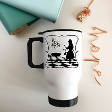 Alice nel paese delle meraviglie in acciaio inox tazza da viaggio-DRINK ME