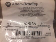 NEW ALLEN BRADLEY 800F-PN3RX12L LED/CONTACT MODULES WITH LATCH RED ROCKWELL
